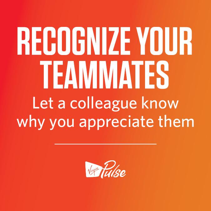 Recognize Your Teammates