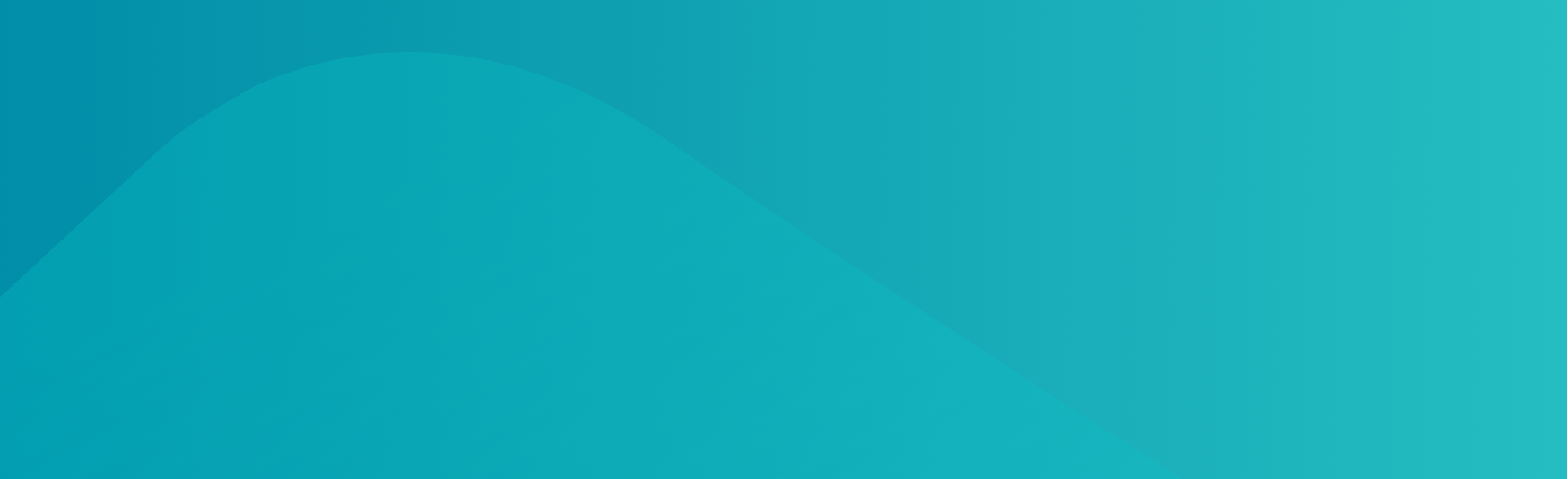 Footer - Blue Gradient