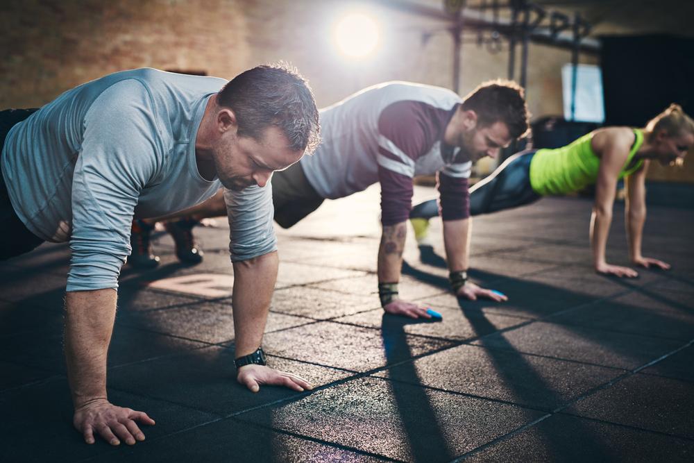 plank challenge - exercise